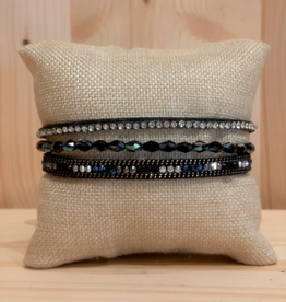 Fancy Armband Simply Chic schwarz