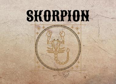 Skorpion * 23. Oktober - 22. November