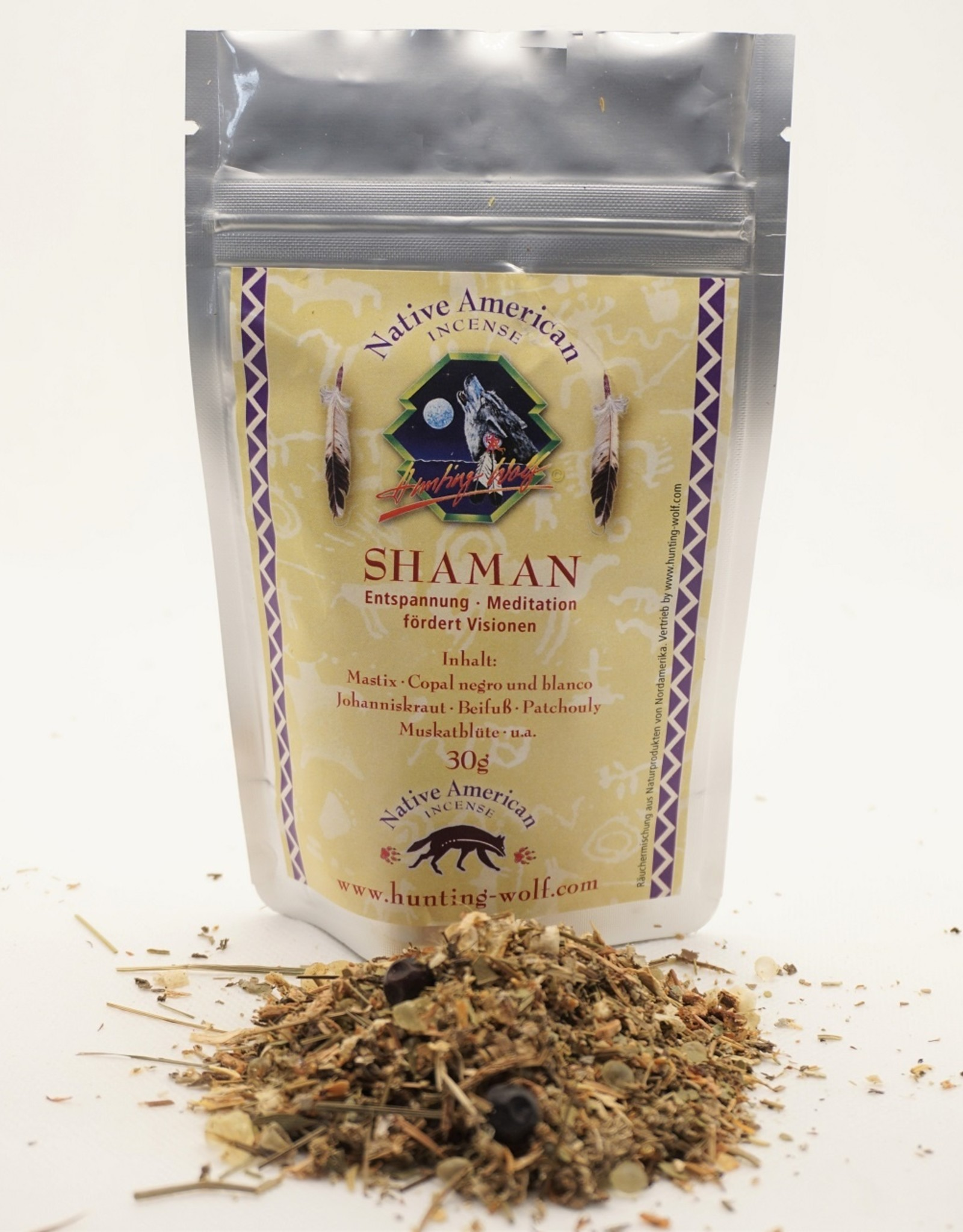 Shaman - Eine entspannende und visionsfördernde Räuchermischung