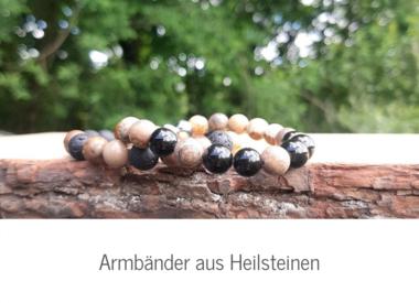 Armbänder aus Heilsteinen