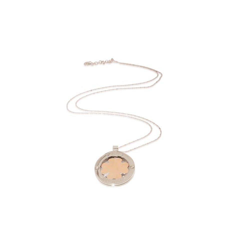 85cm necklace - four-leave -pendant