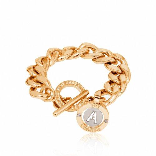 Iniziali - flat chain - armband