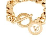 Small Flat Chain - Armband - Goud