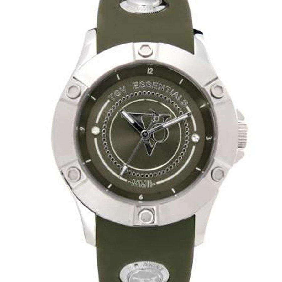 Sea Battle - Army - Steel - Horloge