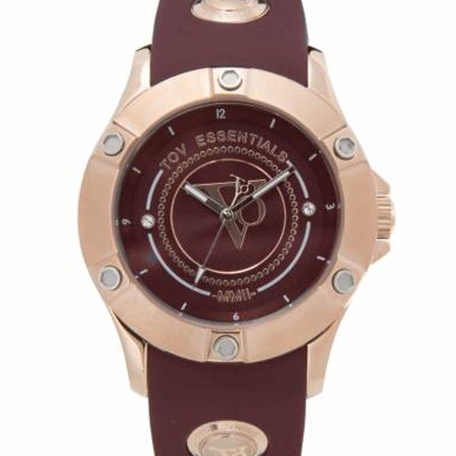 Pearl Harbour - Burgundy - Rose - watch