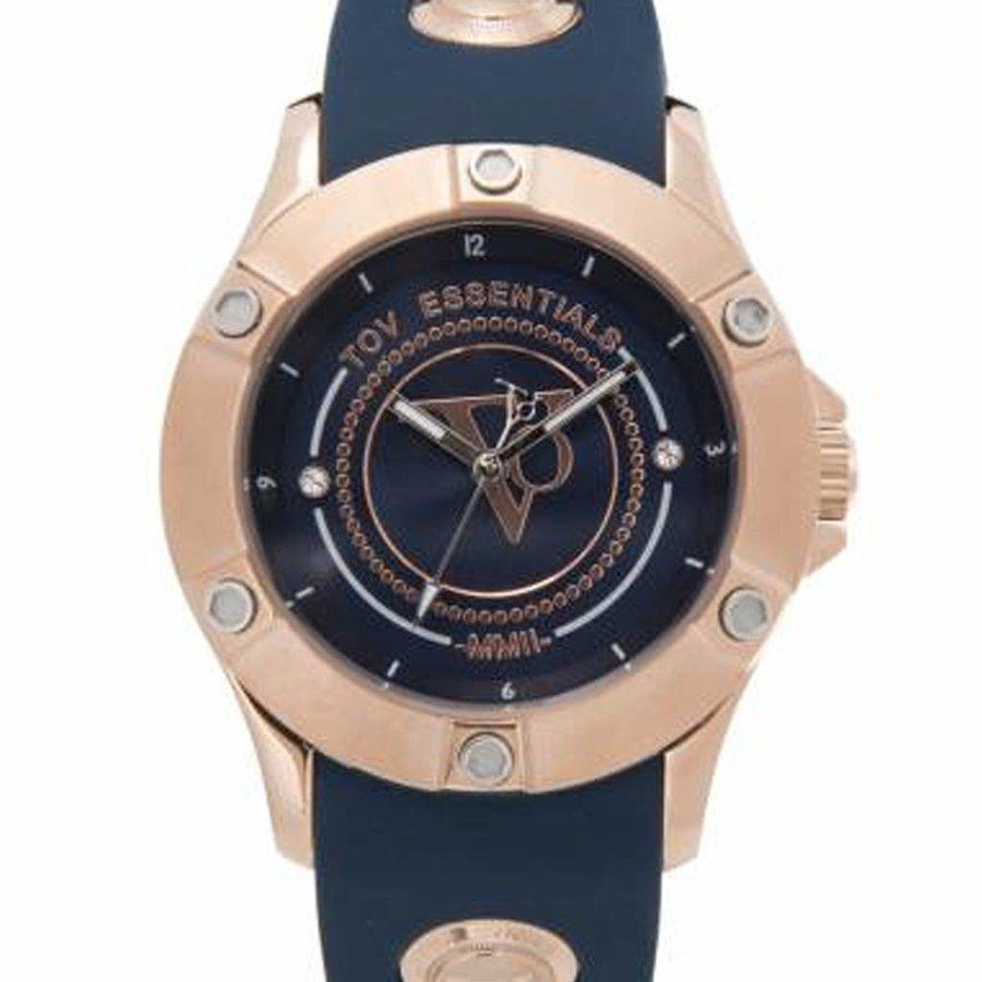Navy Combat - Rose - Horloge