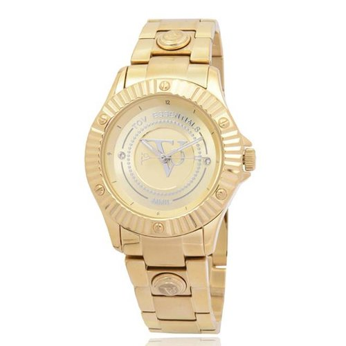 Golden sun gold watch