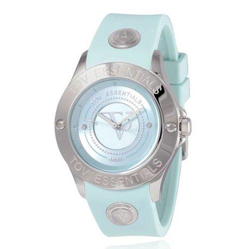 Blue Bay mintgroen/staal - Horloge