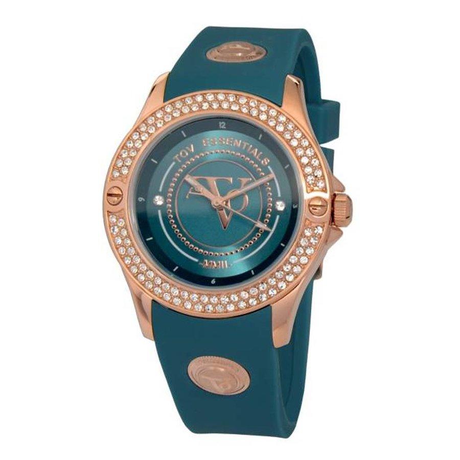 Atlantis Sparkle Rose/Caribbean blue - Horloge