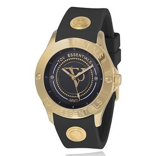 Black Sea Treasure zwart/goud - Horloge