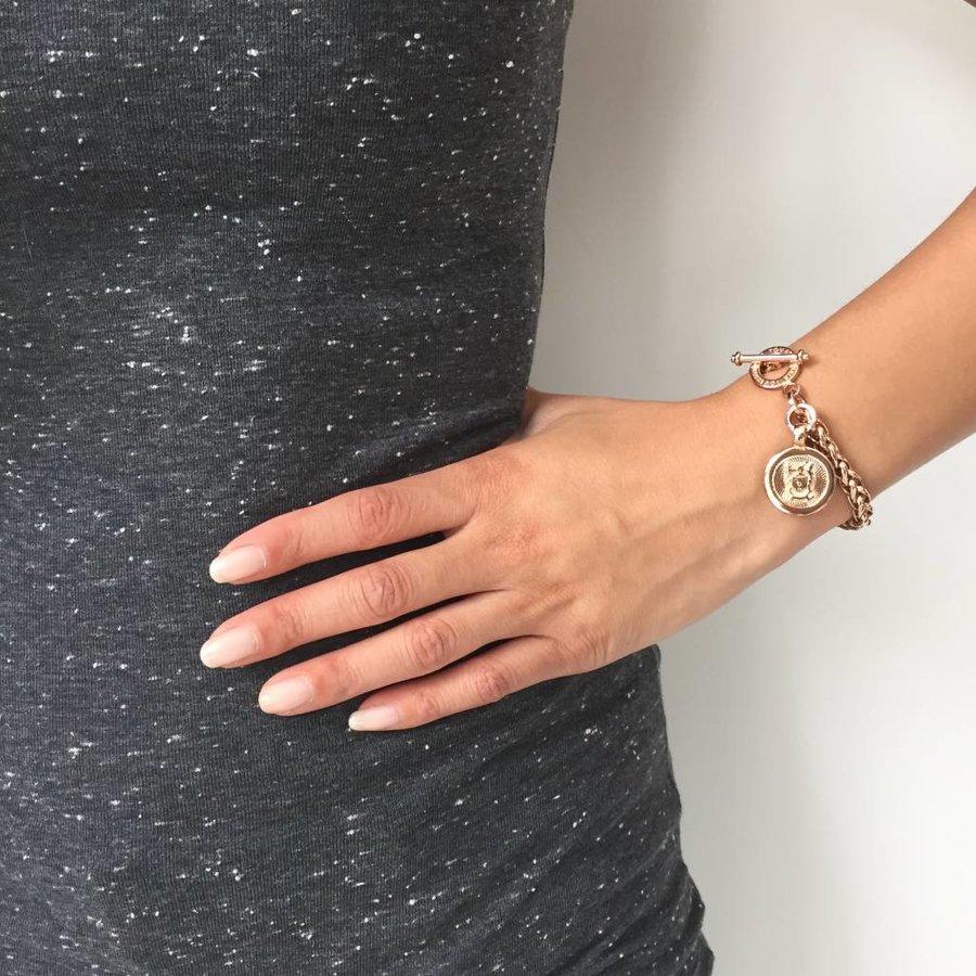 Small Spiga - Armband - Rose