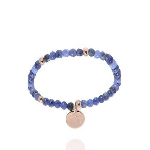Romancing The Stones - Armband - Blue/White Gold
