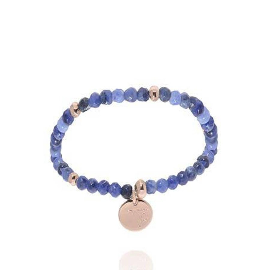 Romancing The Stones - Armband - Blue/Rose Gold