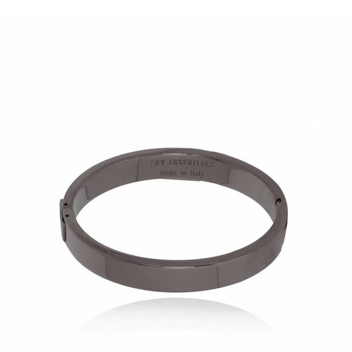 TOV bangle - Gun Metal - Armband