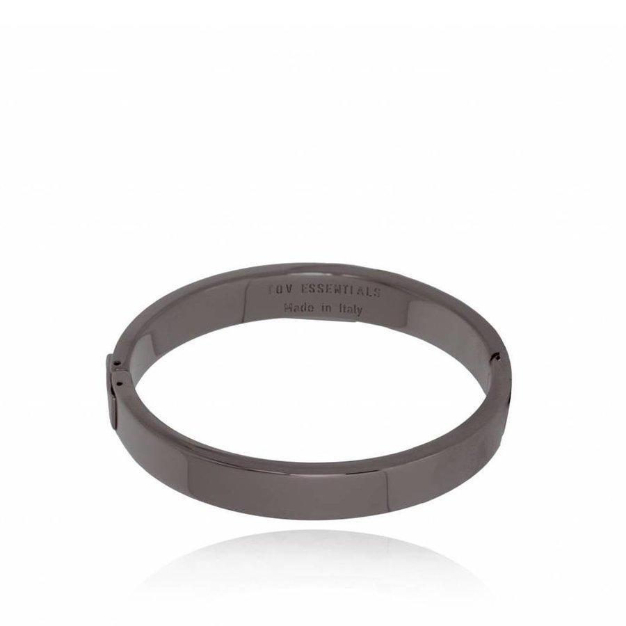 TOV bangle - Gun Metal - Armband