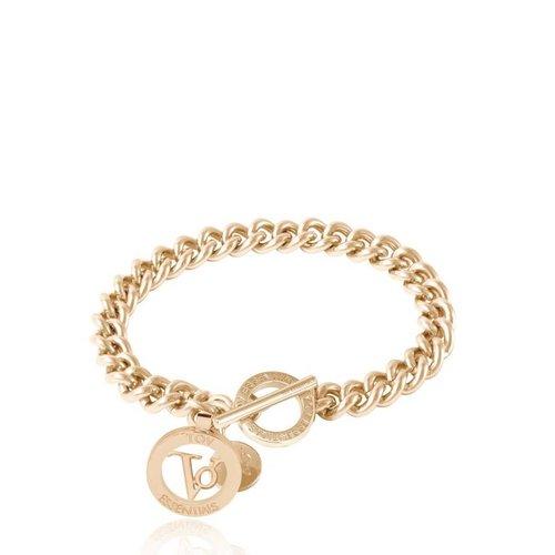 Ini mini Solochain - Armband - Champagne goud