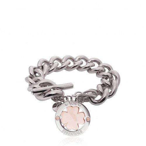 4leaf bi-colour - Armband