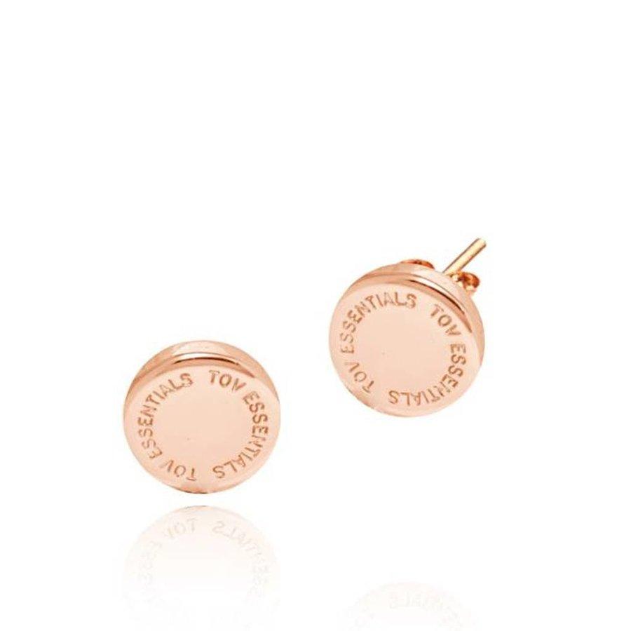 TOV stud earring - Rose