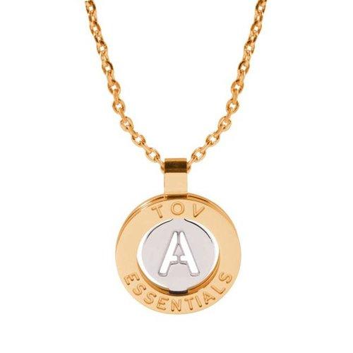 Iniziali necklace 2.0 - Gold/White Gold - Letter A
