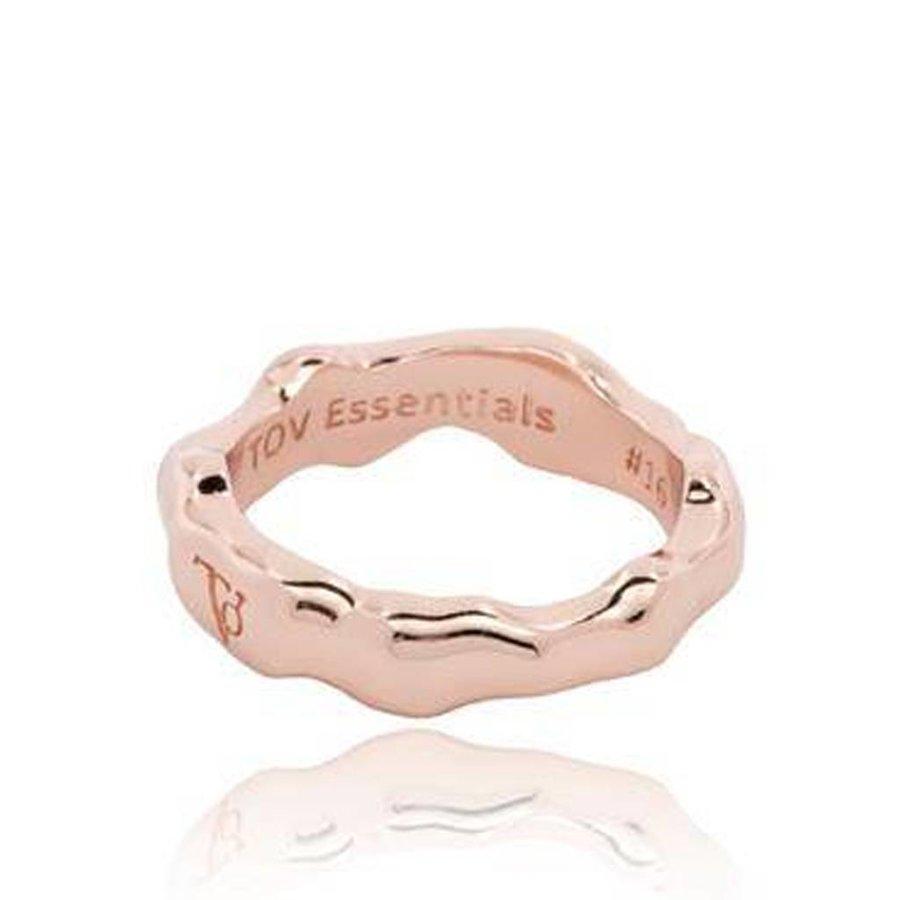 Oak ring - rose