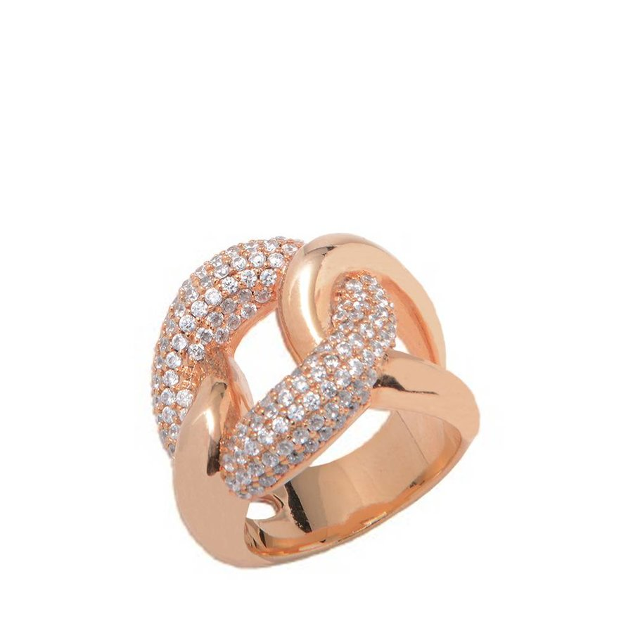 Pave Ring - Rose
