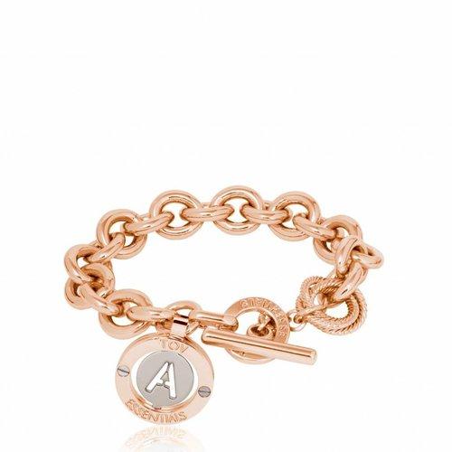 Iniziali - round gourmet bracelet