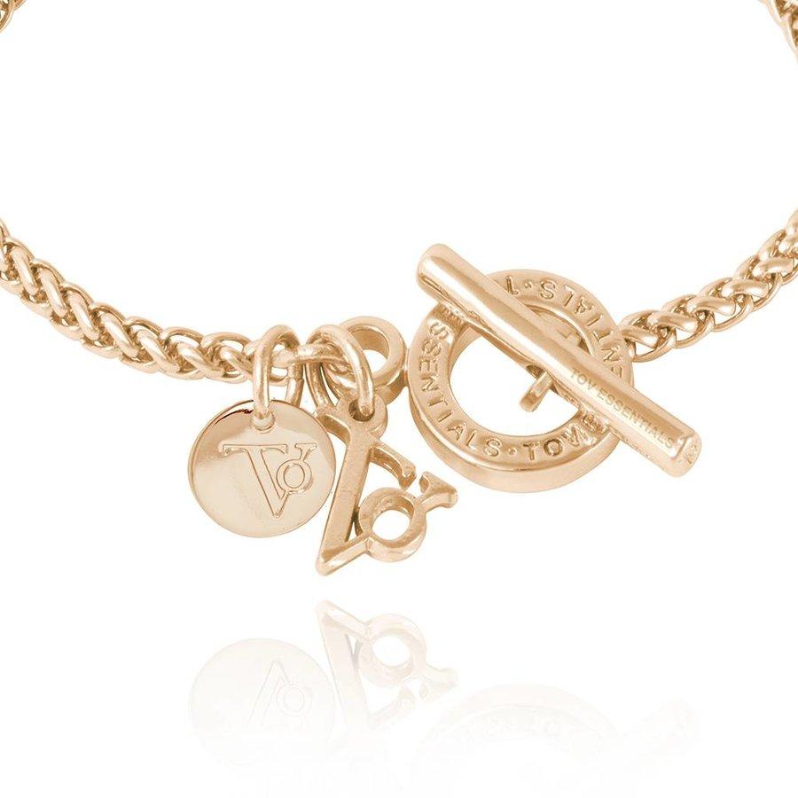 Ini mini Spiga - Armband - Light Gold