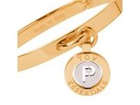 Iniziali bangle 2.0 - Gold/White Gold - Letter P
