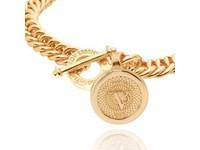 Ini mini mermaid medaillon bracelet - Gold