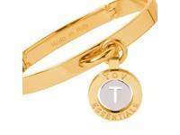 Iniziali bangle (Armband) 2.0 - Goud/Wit Goud - Letter T