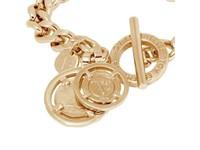 Mini flat chain bracelet - Light Gold