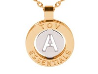Iniziali necklace 2.0 - Gold/White Gold - Letter A