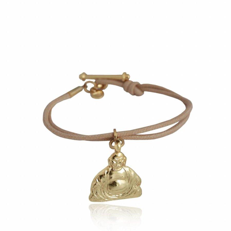 Buddha Pendant - Armband - Rose