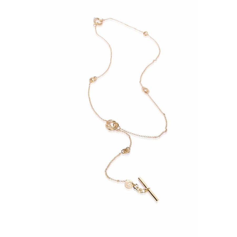 Multi necklace - Light gold