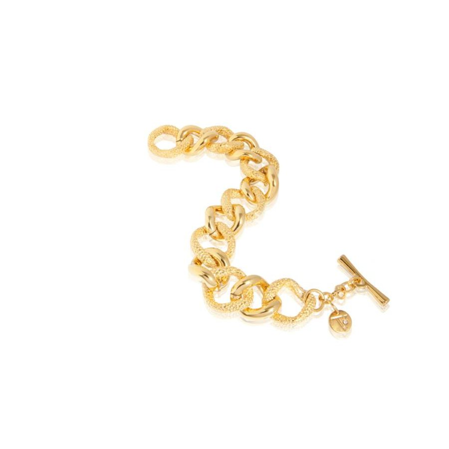Stingray flat gourmet bracelet - Gold