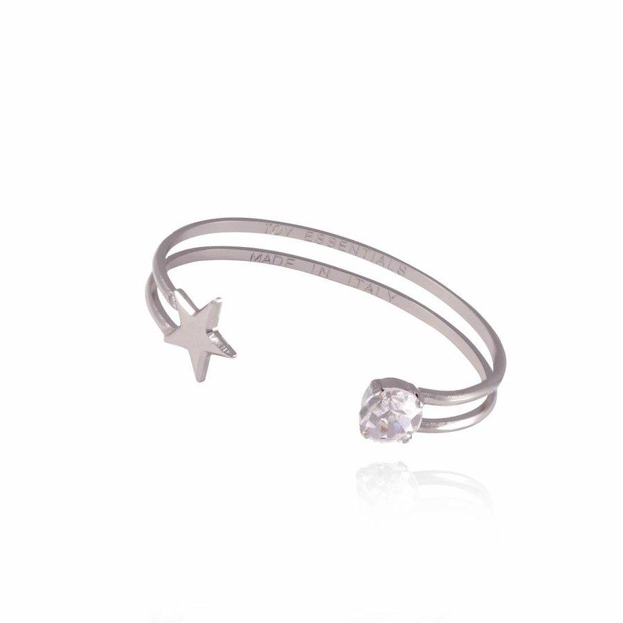 Stardust cuff - White gold