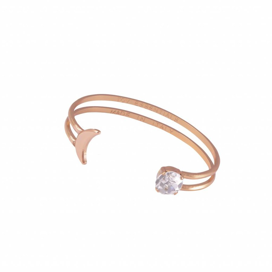 To the moon cuff - Rose