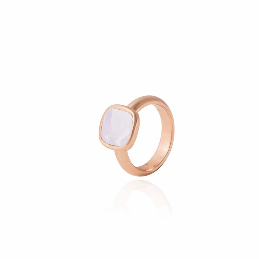 Quartz ring - Rose/ Rose quartz