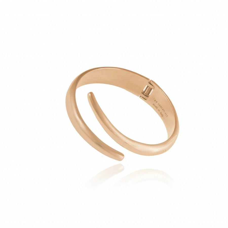 Snake bracelet - Light gold