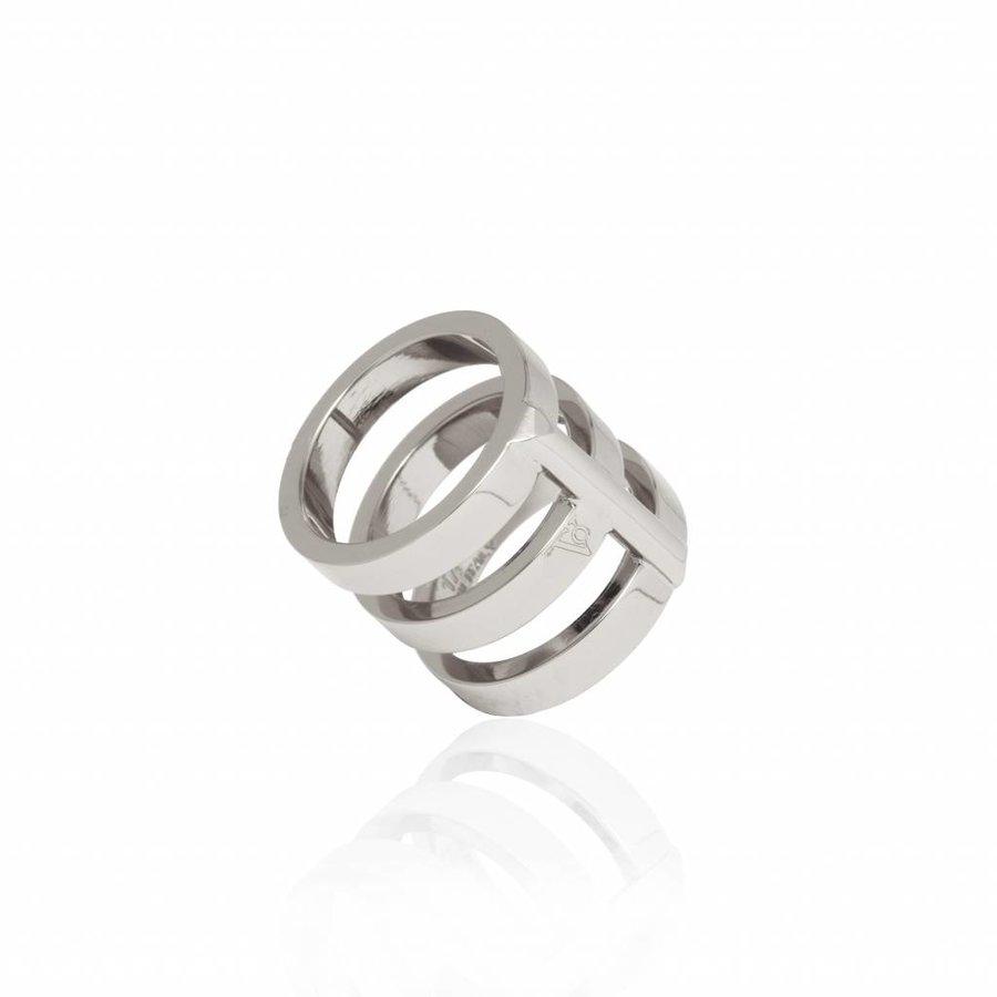 Future multi ring - Silver