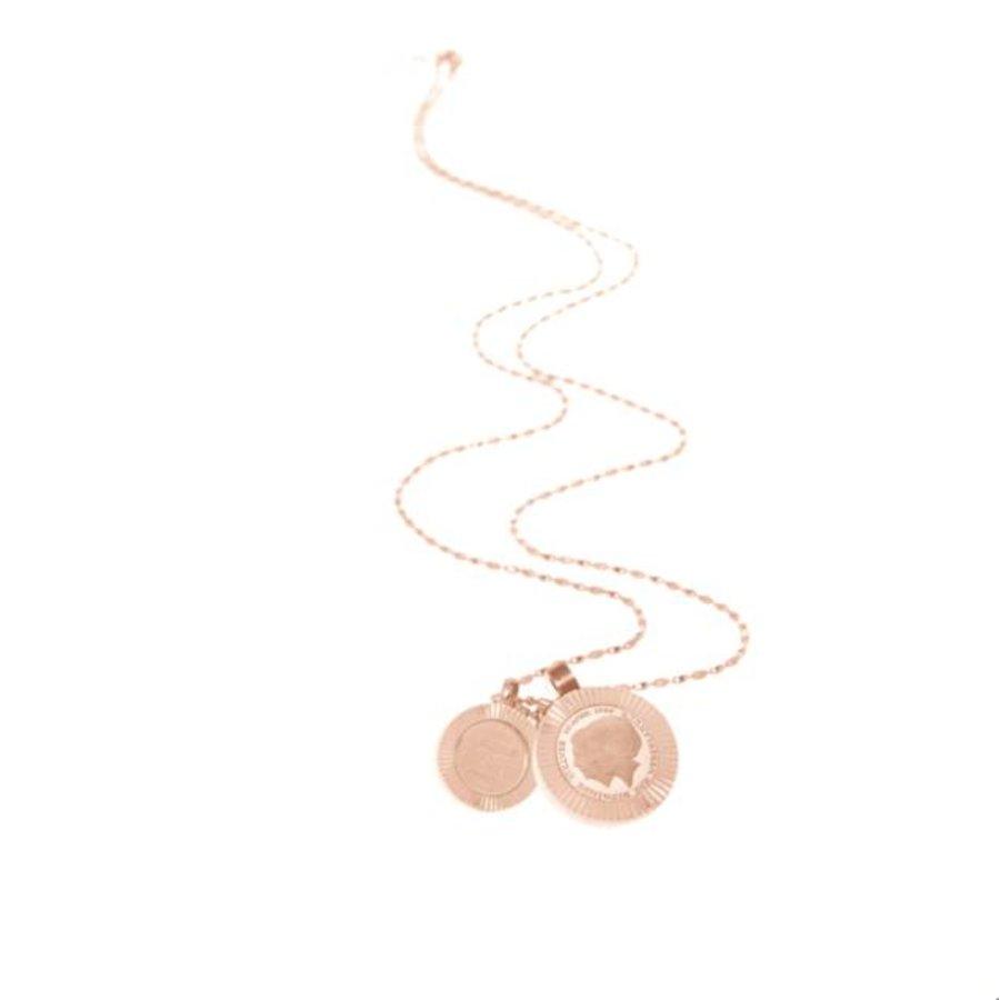 Trix en Juul ketting - Rosé