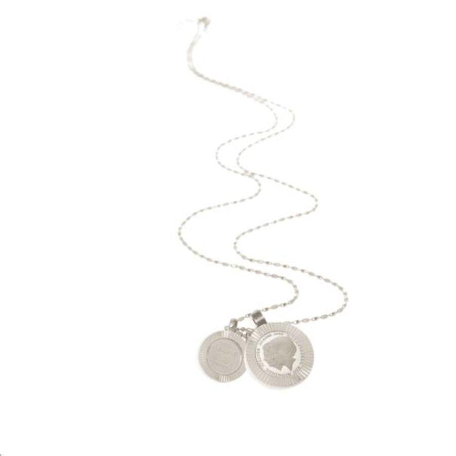 Trix en Juul necklace - Silver