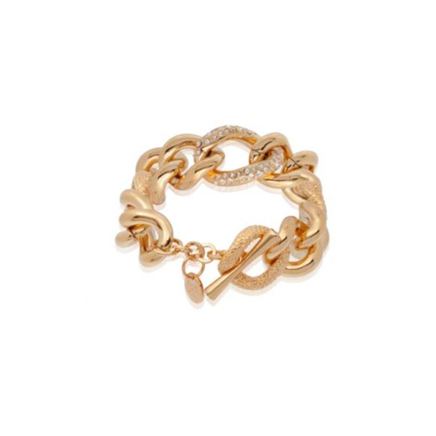 Multi look gourmet armband - Rosé