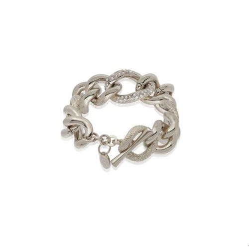 Multi look gourmet armband - Zilver