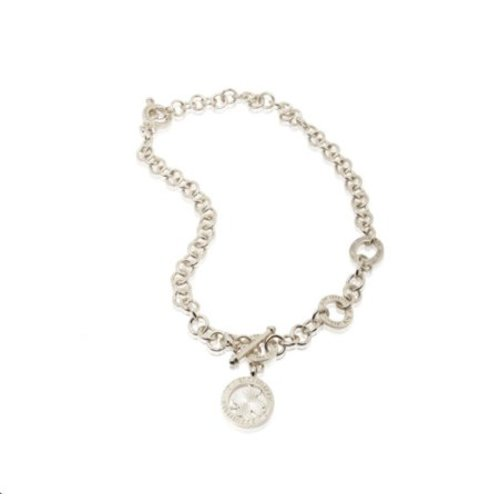 3 position ketting - Zilver
