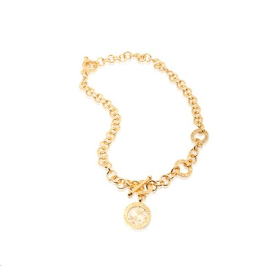 3 position collier - Gold