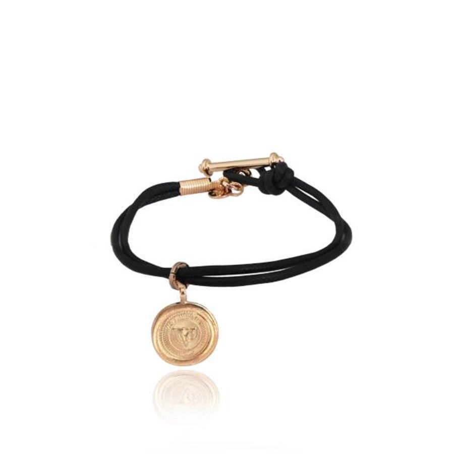 Dutch 10ct pendant armband - Goud