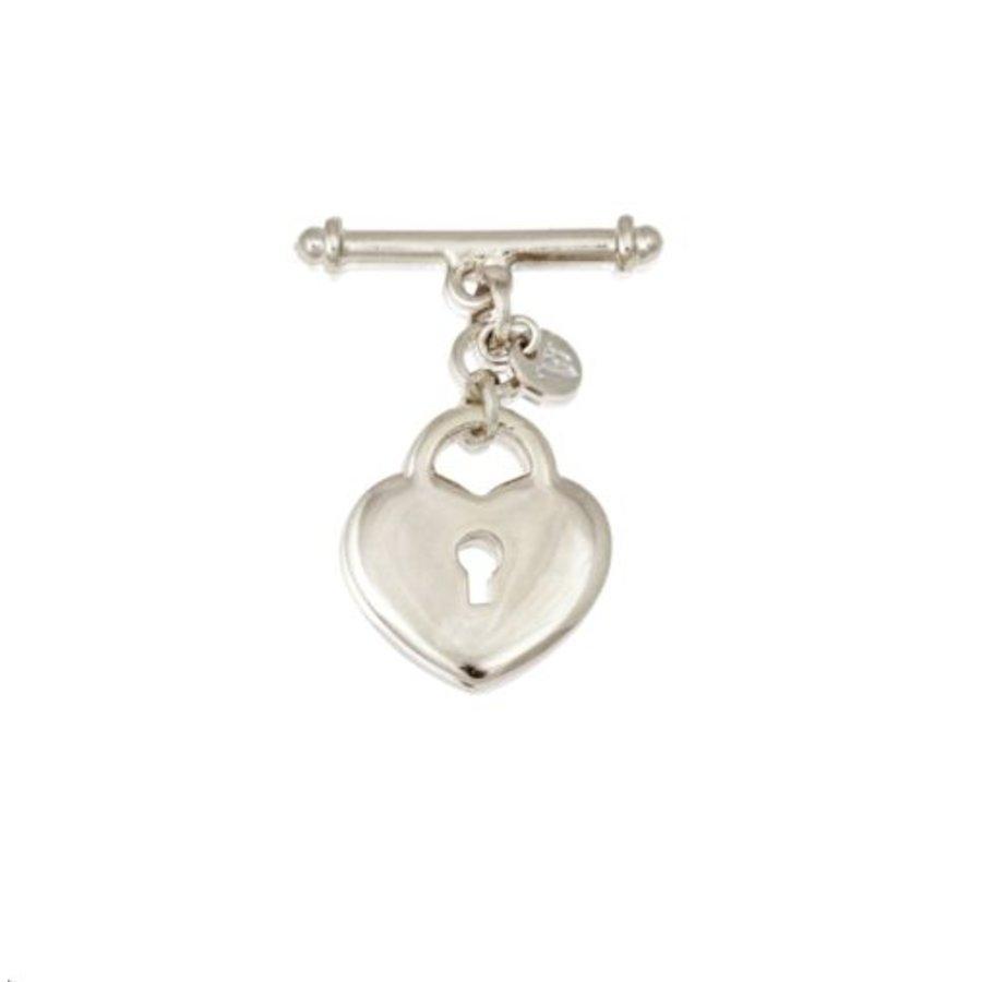 Lock pendant - Silver