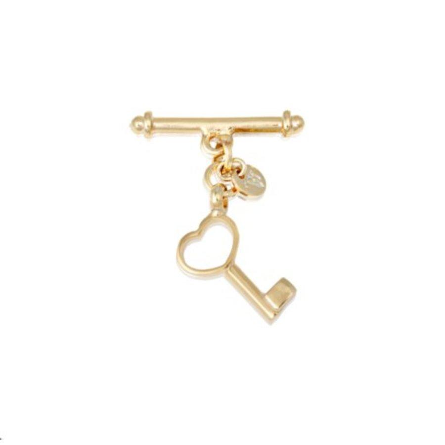 Key pendant armband - Goud