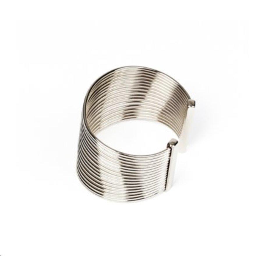 New spiral armband - Zilver